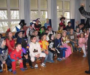 zauberclown kindergarten schule